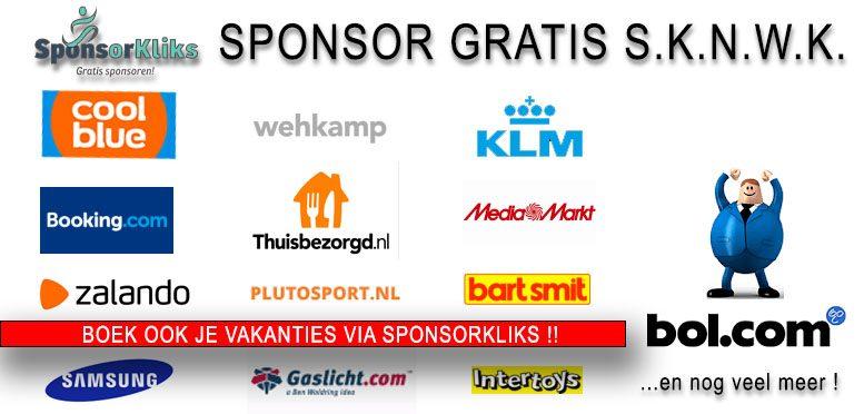 Banner Sponsorkliks met logo's