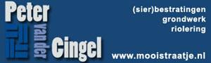 Peter van der Cingel Bestratingen