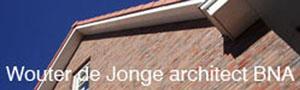 Wouter de Jonge architect BNA